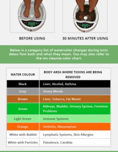 Ion cleanse color chart visual also ionic det rh scoop