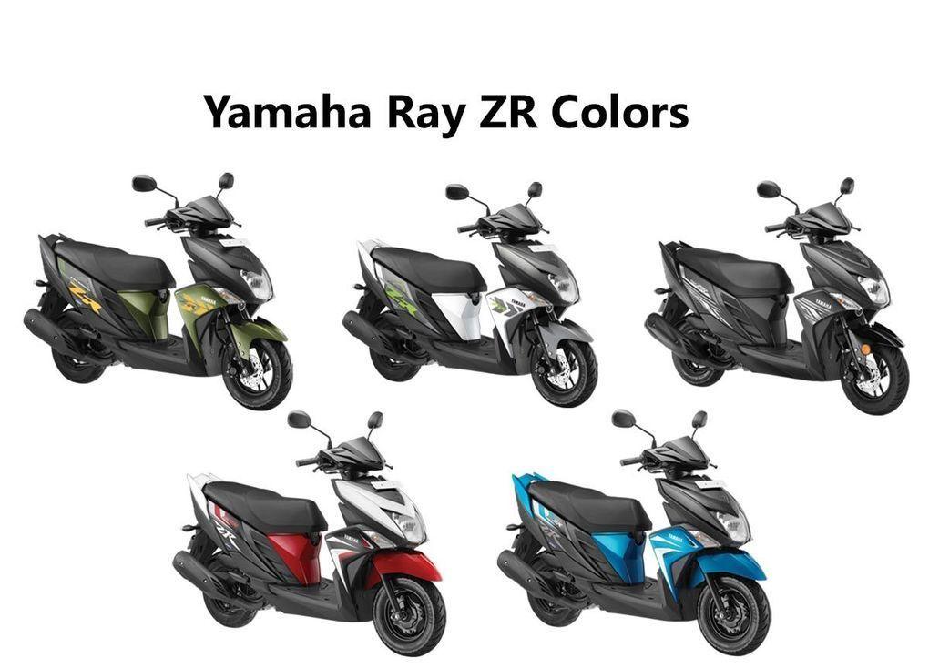 Yamaha Ray ZR Colors: Dark Night, Matt Green, F...