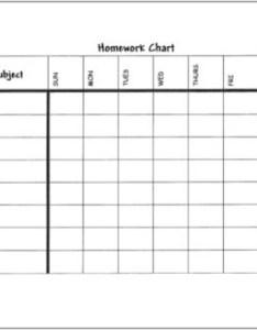 Free printable weekly homework log also fancrerira rh scoop