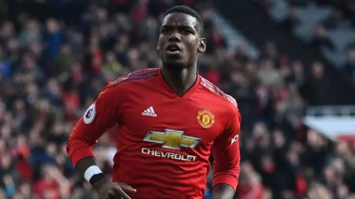 Paul Pogba has two years left on his current Manchester United contract