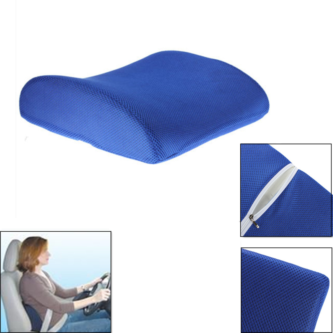 back support for office chair malaysia painting plastic chairs memory foam lumbar cushion pillow