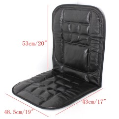 Swivel Chair Lazada Pvc Lounge Chairs Leather Back Support Front Seat Cover Cushion