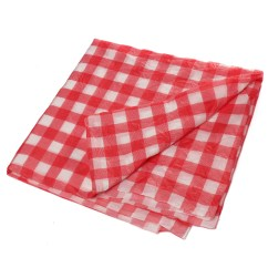 Disposable Plastic Chair Covers For Parties Director Gumtree Red Gingham Temporary Check Table Cover Cloth Outdoor Picnic   Lazada Malaysia