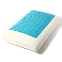 Cooling Gel Comfort Bed Pillow With Memory Foam Orthopedic ...
