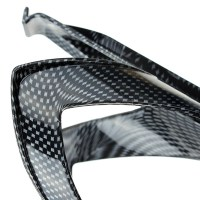 Carbon Fiber Texture Bicycle Water Bottle Holder Advanced