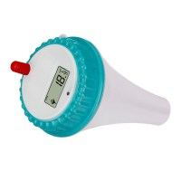 Wireless Digital Floating Swimming Pool Thermometer ...