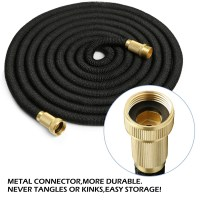 3 times Expandable Flexible Garden Water Hose + Pipe Solid ...