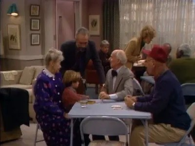Family Ties 7x11 Get Me to the Living Room on Time