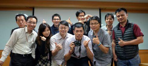 【攝影教學講座】研揚科技公司攝影社-攝影眼的培養-講師:吳鑫