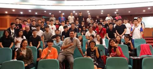 【生涯輔導講座】明志科技大學 夢想神攝手 講師:吳鑫