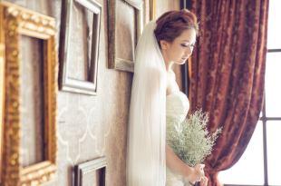 【自助婚紗攝影】現代經典攝影棚雙人攝影棚拍英式婚紗寫真