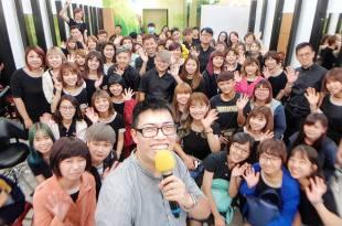 曼都美髮造型手機攝影+手機拍片課台南場企業教育訓練 講師:吳鑫