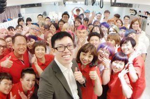【美髮造型攝影企業教育訓練】曼都美髮集團手機攝影課台北總部場 講師:吳鑫
