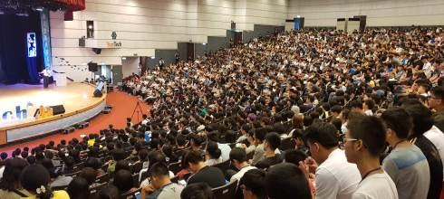 雲林科技大學新生學涯開展營 斜槓青年大學築夢這樣玩 講師:吳鑫