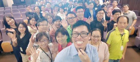 【企業手機攝影講座】緯創資通內湖總公司場 用手機拍出完美打卡照 講師:吳鑫