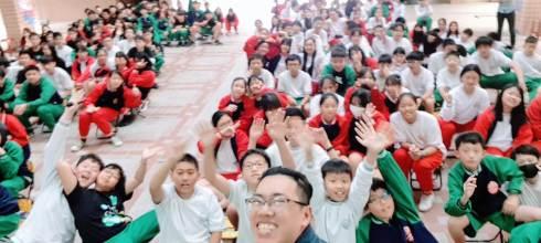 【生涯發展週會演講】台北市桃源國中 夢想神攝手 講師:吳鑫