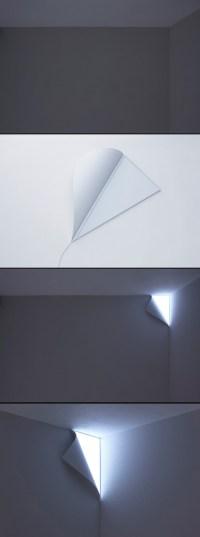 Peel  wall lamp - ShockBlast