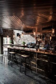 Rustic Bar Interior Design