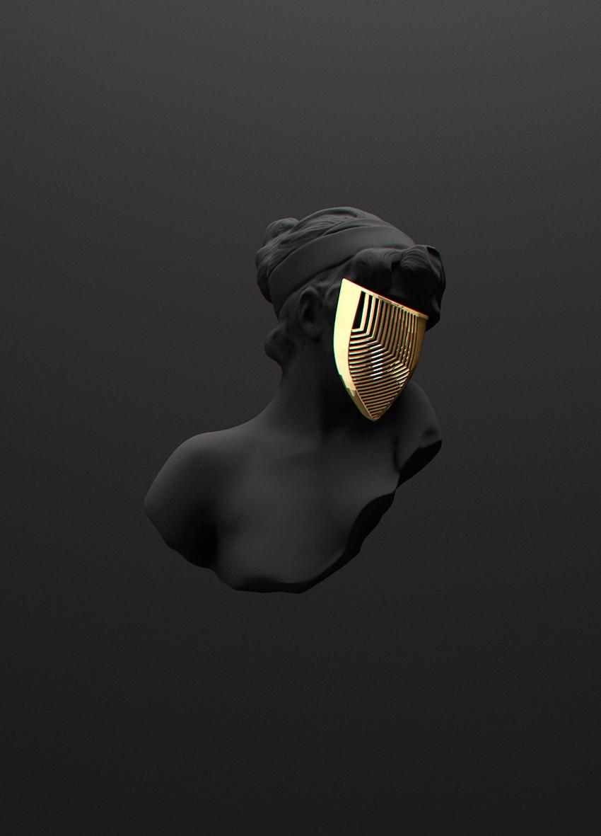 Dj Wallpaper 3d Hd All Black But Gold Shockblast