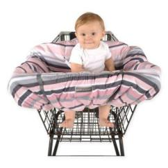 High Chair Buy Baby Posture Meaning Balboa Shopping Cart And Cover In Pink Grey Stripe From Buybuybaby At Shop Com