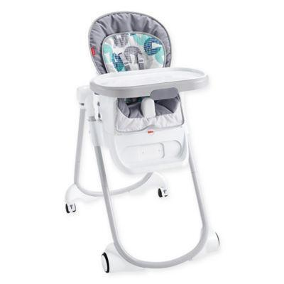 high chair buy baby aluminium chairs for sale fisher price 4 in 1 total clean blue grey from buybuybaby at shop com