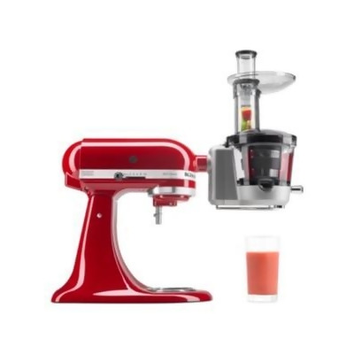 macys kitchen aid round table with leaf kitchenaid ksm1ja stand mixer juicer attachment from macy s at shop com