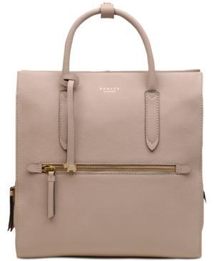 Radley London Arlington Court Leather Zip-Top Backpack from Macy's at SHOP.COM