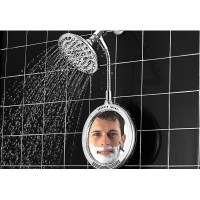 Heated Fog-Free Shower Mirror from The Sharper Image at ...