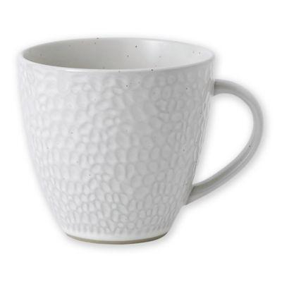 Gordon Ramsay by Royal Doulton® Maze Grill Mug in Hammered White from Bed Bath & Beyond at SHOP.COM
