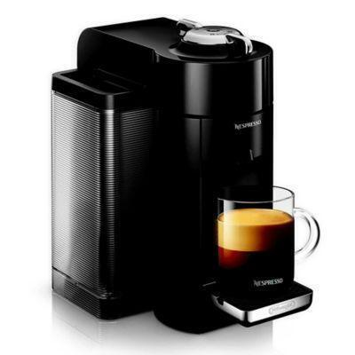 Nespresso Vertuo by De'Longhi Coffee and Espresso Maker in Piano Black from Bed Bath & Beyond at SHOP.COM