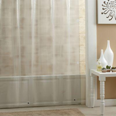 salt peva 84 inch x 70 inch shower curtain liner in clear