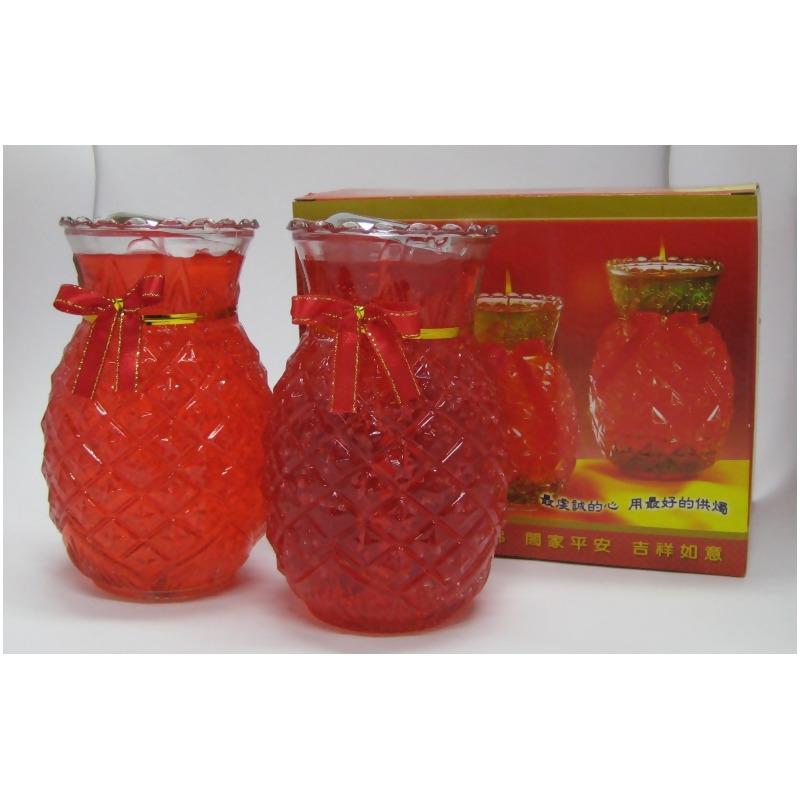 鳳梨 (旺旺來) 果凍蠟燭-10斤 from 元香堂佛俱香鋪 at SHOP.COM TW