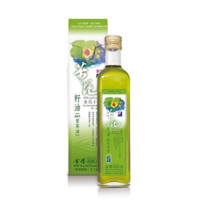 【金椿茶油工坊】金花小菓茶籽油/苦茶油(500ml) from friDay購物 at SHOP.COM TW