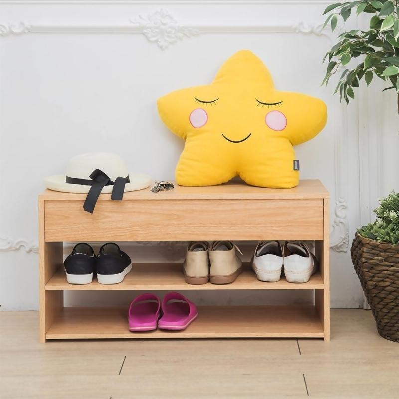 【ikloo】上掀式收納鞋櫃/穿鞋椅 from friDay購物 at SHOP.COM TW