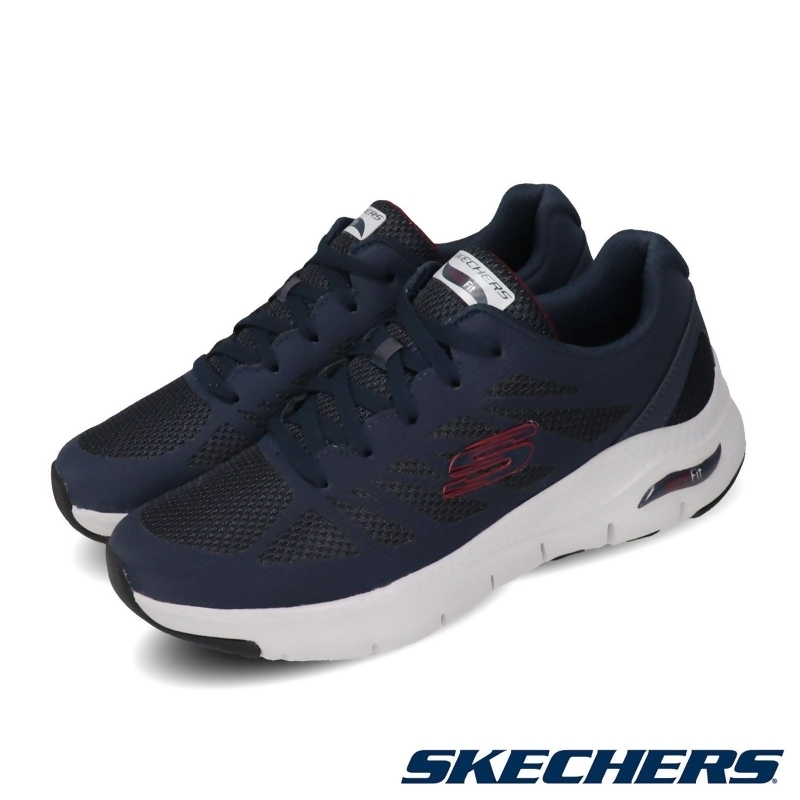 Skechers 健走鞋 Arch Fit 足科醫生推薦 男鞋 232042NVRD from friDay購物 at SHOP.COM TW