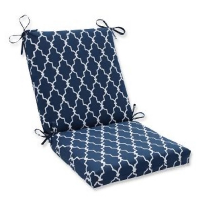 wicker chair cushions with ties eames replica chairs nz 36 5 moroccan gate navy blue and white outdoor patio cushion from christmas central at shop com