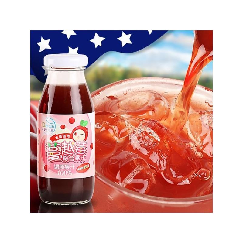 美國道地蔓越莓果汁(6入) from 愛上新鮮 i3fresh at SHOP.COM TW