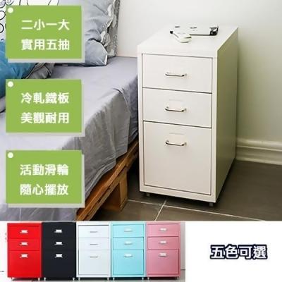 《C&B》鋼鐵斯特附輪三抽屜櫃 from friDay購物 at SHOP.COM TW