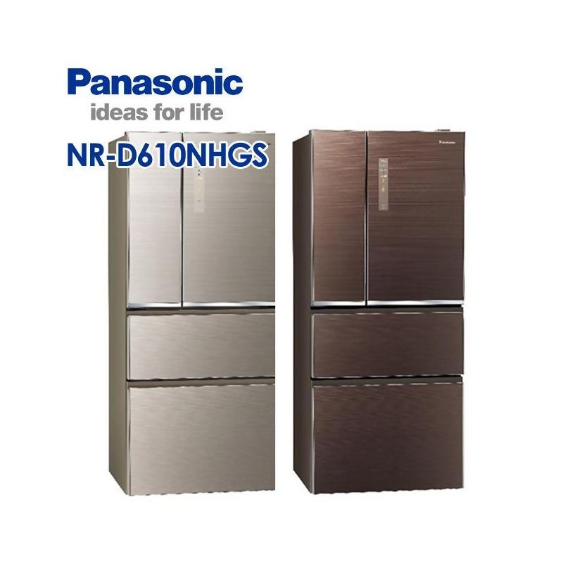 Panasonic 國際牌 610公升玻璃變頻四門冰箱 NR-D610NHGS from friDay購物 at SHOP.COM TW