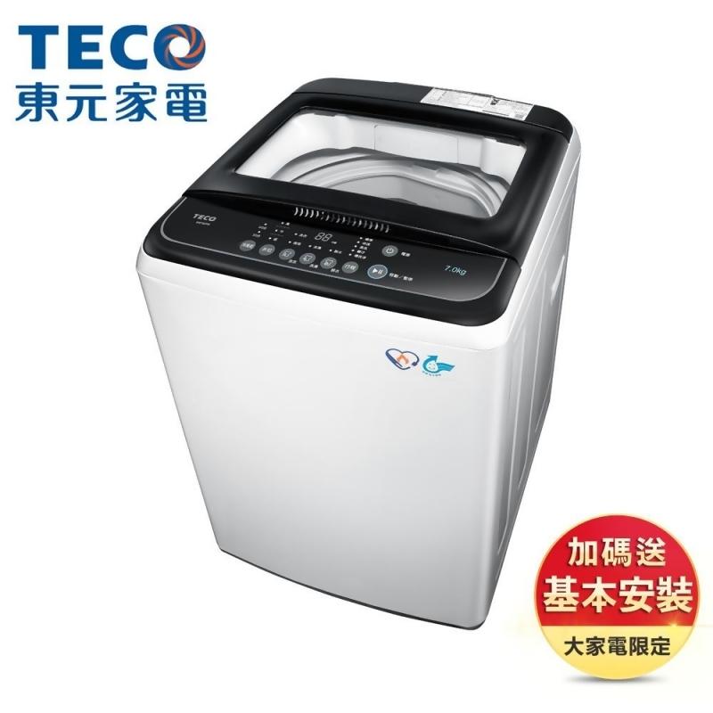 【TECO 東元】7公斤 FUZZY人工智慧定頻洗衣機 (W0702FB) from friDay購物 at SHOP.COM TW