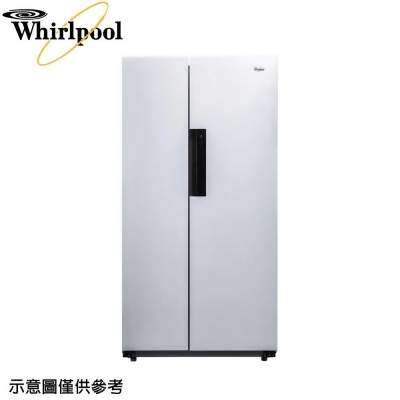 【Whirlpool惠而浦】600公升對開雙門冰箱WHS600LW from 三井3C購物網 at SHOP.COM TW