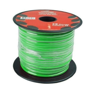 AUDIOPIPE AP-14-500 GRN Audiopipe 14 Gauge 500Ft Primary Wire Green from My Goods at SHOP.COM