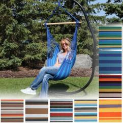 Hanging Hammock Chair Futon Bed Ikea Sunnydaze Swing For Indoor Or Outdoor Use Max Weight 265 Pounds Includes 2 Seat Cushions Multiple Options From Serenity Health
