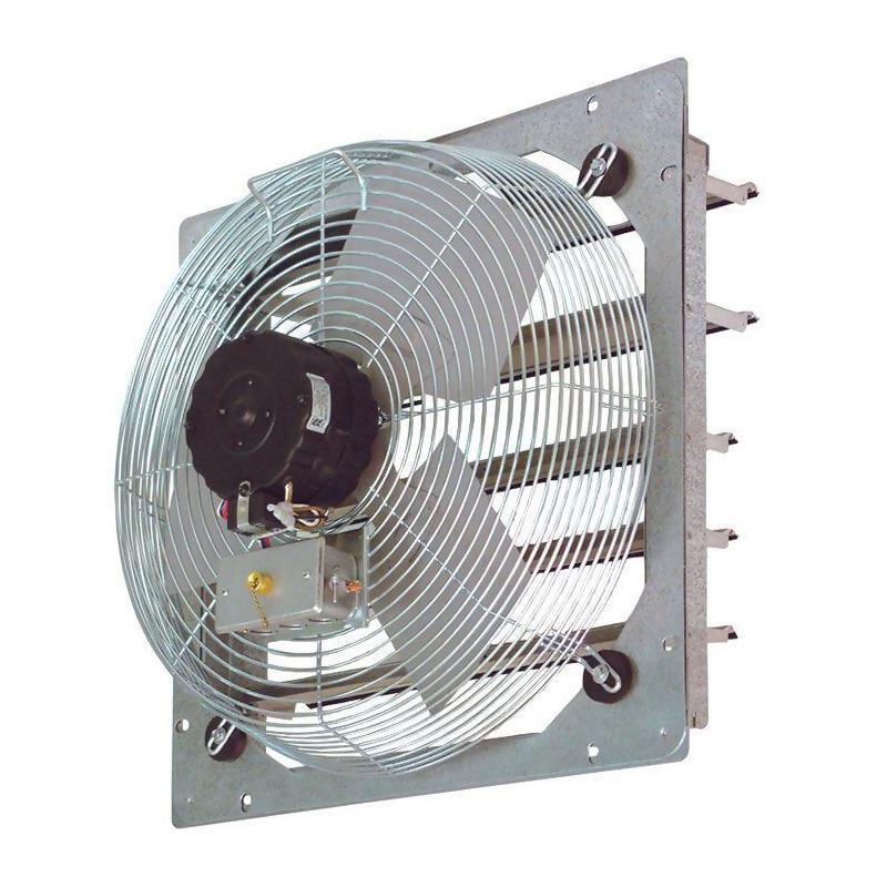 continental fan sef 10 galvanized frame wall exhaust fan 10