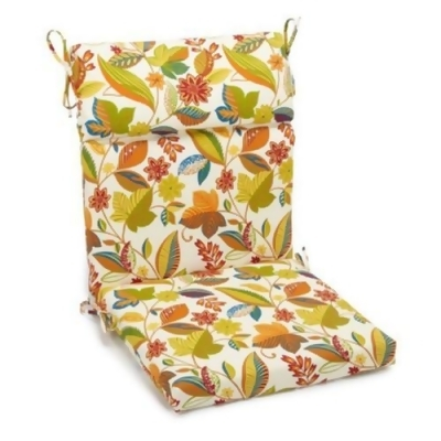 high back lawn chair cushions best rated blazing needles 22 x 45 in outdoor patio cushion write a review