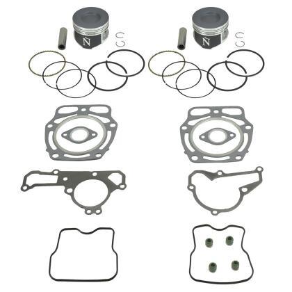 Standard Bore Pistons & Gasket Kit Kawasaki KAF620 Mule