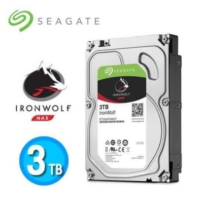 Seagate 那嘶狼【IronWolf】3TB 3.5吋 NAS硬碟 (ST3000VN007) from e-payless 百利市購物中心 at SHOP.COM TW