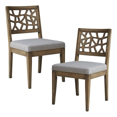 kohls dining chairs herman miller sayl chair ink ivy crackle cutout 2 piece set light grey from
