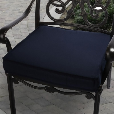 kohls outdoor chair cushions wood patio mozaic sunbrella 20 canvas cushion blue from kohl s