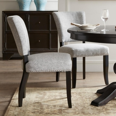 kohls dining chairs glider on sale madison park parler armless chair 2 piece set grey from